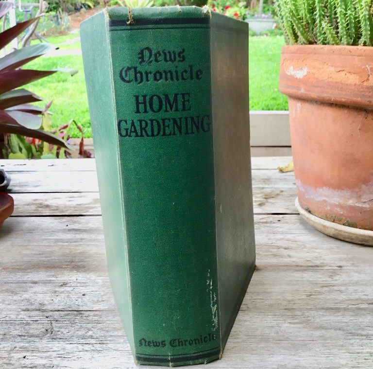 new chronicle home gardening book