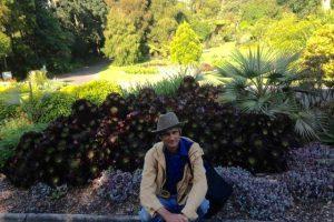 the gardener in melbourne botanic gardens